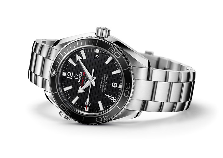 black dial copy Omega Seamaster Planet Ocean 600M watches