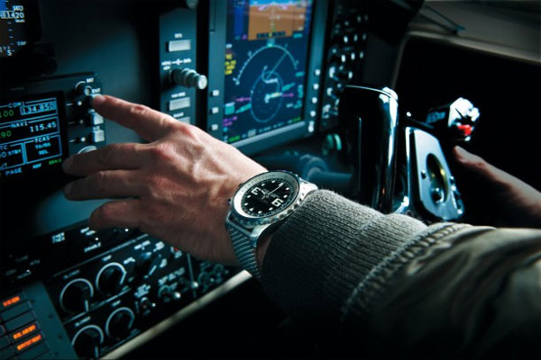 stainless steel case copy Breitling Chronospace