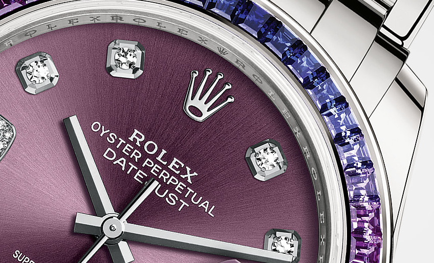 Arabic Numerals Rolex Oyster Perpetual Pearlmaster Replica Watches