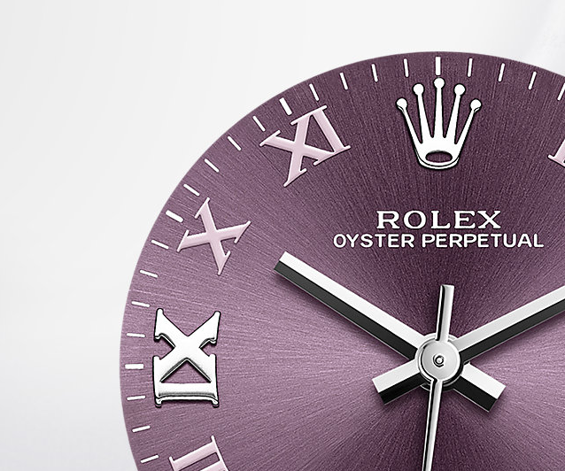 Roman Numerals Rolex Oyster Perpetual Replica Watches
