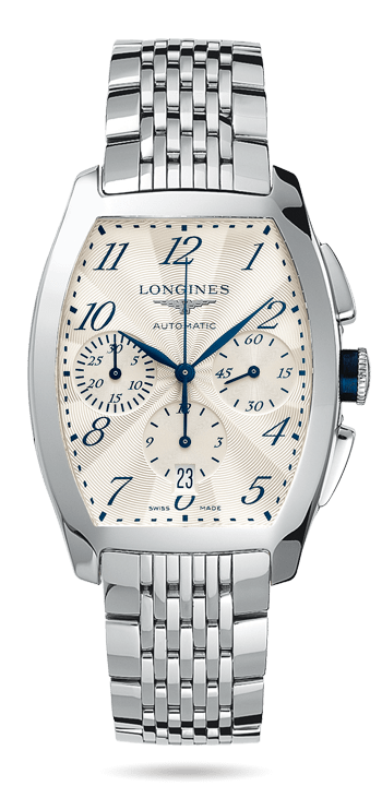 Stainless Steel Case Longines Evidenza Replica Watches
