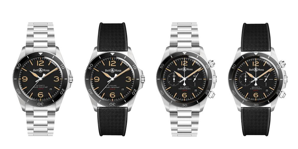 These cool replica Bell & Ross BR V2-92 Steel Heritage watches gives people a feeling of precise.