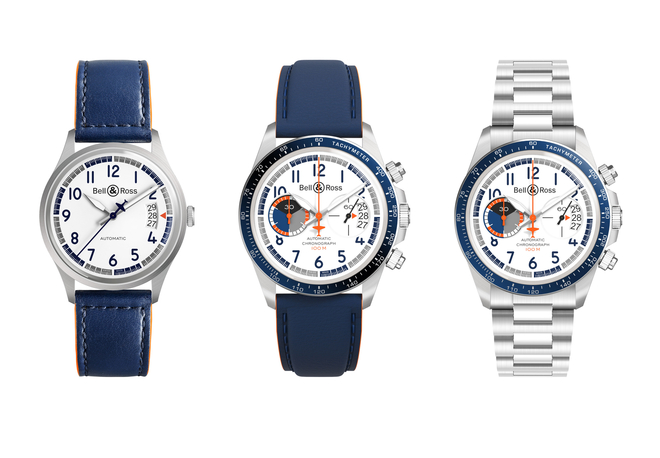 Wearing these fake Bell & Ross Racing Bird watches are just like flying in the sky.