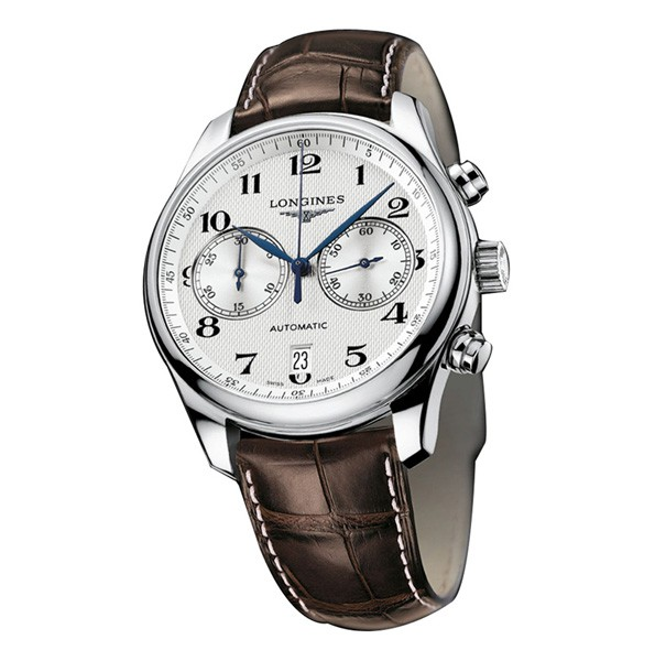 Based on the classical original design style, this brown strap fake Longines Masterwatch easily attracted people's attention.