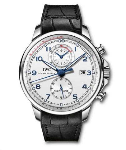 Adopting the classical design features, this replica IWC watch directly shows a kind of classic.