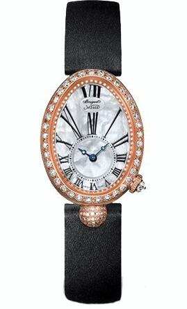 Whether for the dazzling diamonds or the precious rose gold, this replica Breguet watch deeply attracted a lot of ladies.
