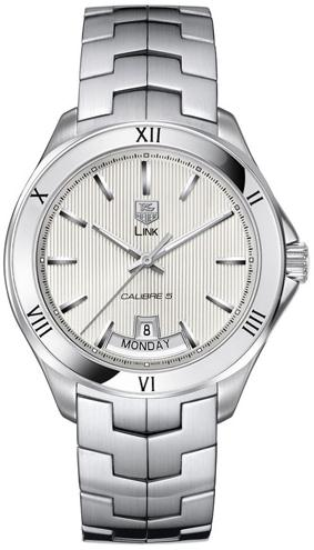 The sturdy fake TAG Heuer Link WAT2013.BA0951 watches are made from stainless steel.
