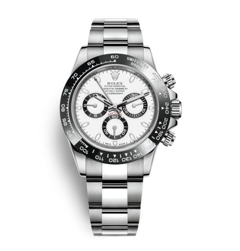 The 40 mm fake watches are made from Oystersteel.