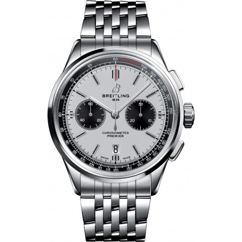 The 42 mm copy watches are made from stainless steel.