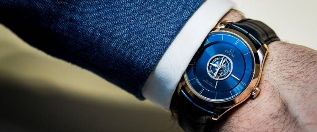 The male replica watches have tourbillons.
